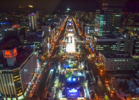 Sapporo Snow Festival, JR Japan Rail Pass Travel in Winter February Snow