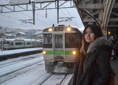 Fanfan Wilson, JR Japan Rail Pass Travel in Winter February Snow