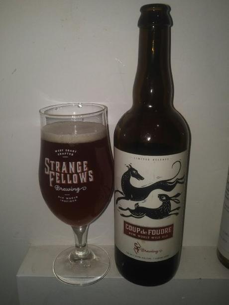 Coup de Foudre (New World Wild Ale) – Strange Fellows Brewing