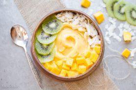 Mango Pineapple Smoothie Bowl