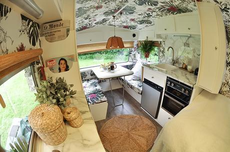 Glamorous, trendy and visually stunning are not words you hear too often in the caravan world. But along came 'Brigitte' – the glamavan who now calls St Tropez her home. Bought for £250 from eBay and transformed into a bohemian paradise by her owner, interior designer and blogger, Jane Ashton.