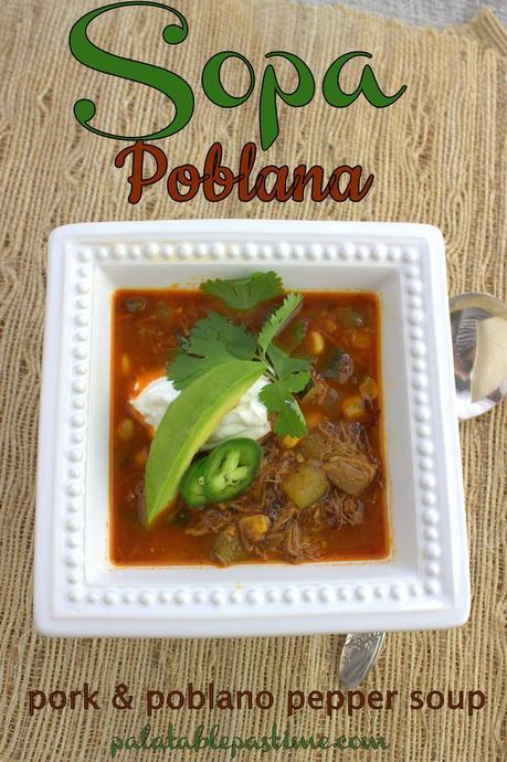 Sopa Poblana