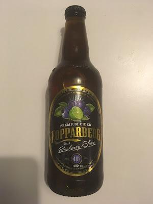 Today's Review: Kopparberg Blueberry & Lime Cider