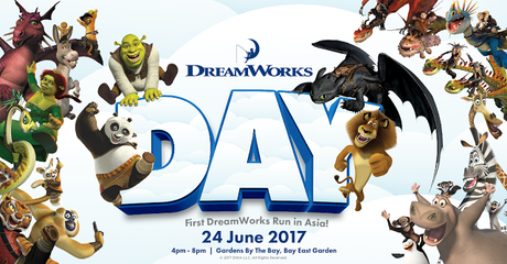 Get Your Promo Code for Singapore First DreamWorks Run NOW!