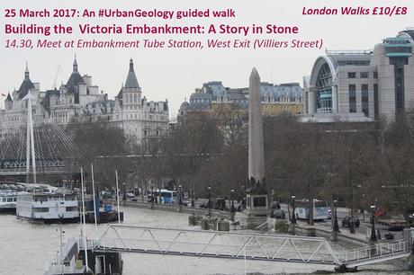 #London Walk of the Week: Building the Victoria Embankment - An #UrbanGeology Walk with @R_Siddall