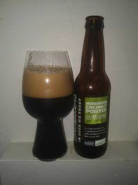 Hawaiian Coconut Porter – Brewsters Brewing Company