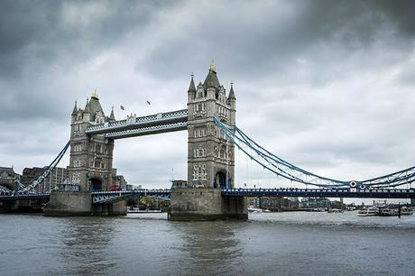 Tower Bridge from up river
