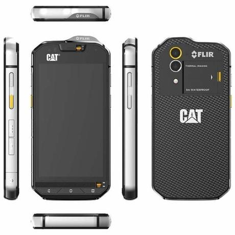 Cat S60 : world's most waterproof smartphone with integrated thermal imaging