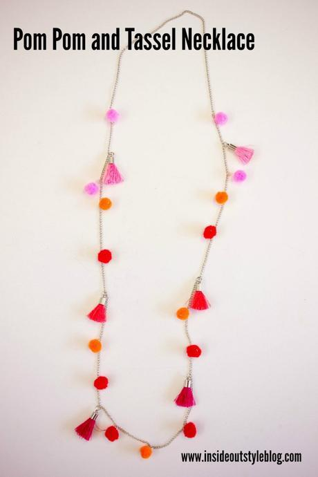 Party Up Your Outfit with Pom Poms with 4 Super Easy Make-it-Yourself Accessories