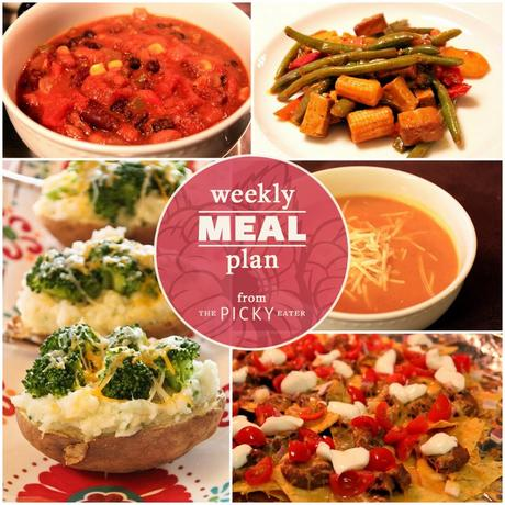 The Picky Eater Meal Plan (Week 4)