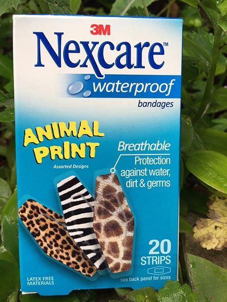 Nexcare Animal Print Bandages – Fun for Kids
