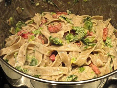 Winter veggies pasta!