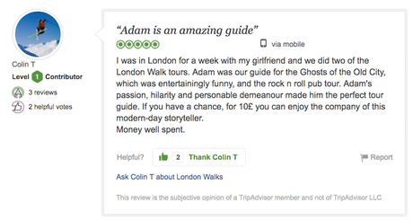 #London Walkers Review London Walks: