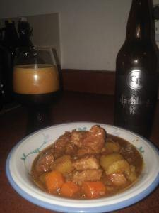 Slow-Cooker Beef Stew with Stout (Darkling Oatmeal Stout – Cannery Brewing)