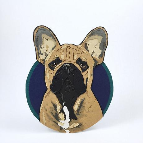 Custom Paper Pet Portrait