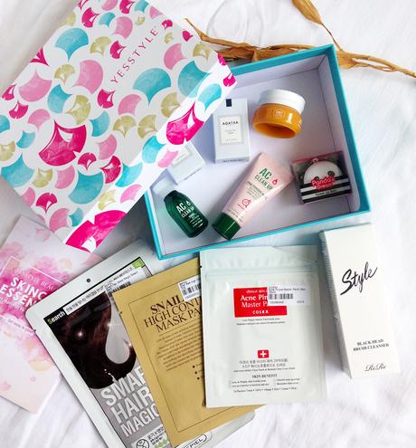 Inside YesStyle Beauty Box #17 - Skincare Essentials