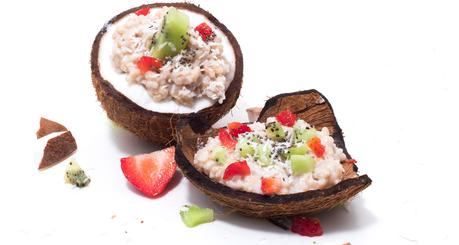 Vegan Protein Coconut Rice Pudding