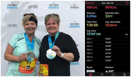 First Watch Sarasota Half Marathon Recap…. And Other Antics!!