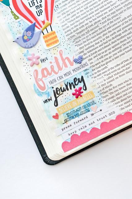 Citrus Twist Kits : Bible Journaling Pages