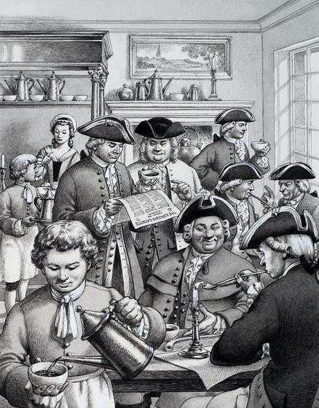Wake Up And Smell the Coffee - Some Freshly Percolated London History From David Tucker