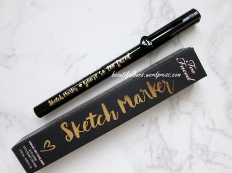 Review: Too Faced Sketch Marker Liquid Eyeliner