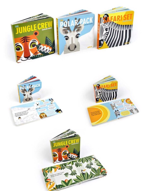 Mibo board books for kids