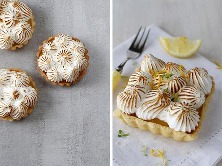 The Secret to Non-Weep Meringue and  Lemon Curd Tartlets