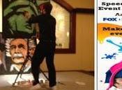 With Speed Painter Event Entertainer Decker