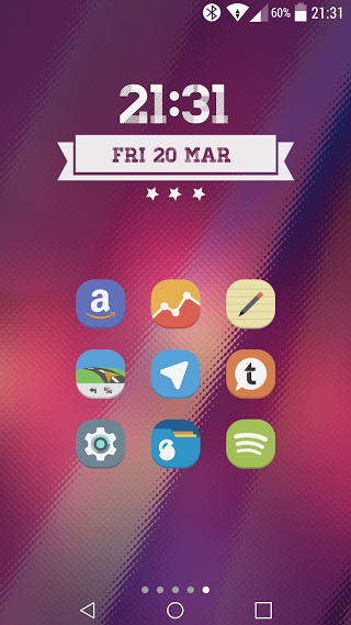 Stock UI - Icon Pack - screenshot