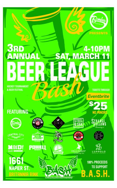 Beer League Bash (3rd Annual) – Vancouver