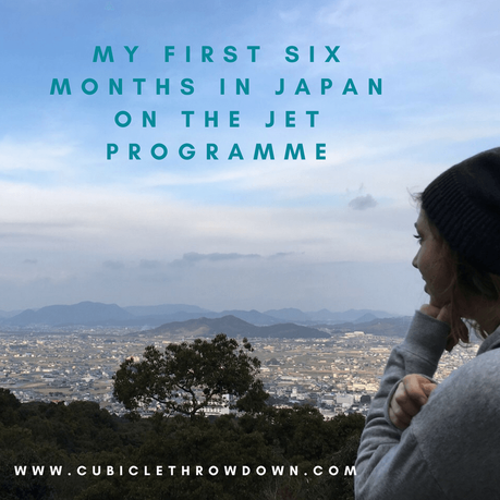 The First Six Months as a JET ALT in Japan