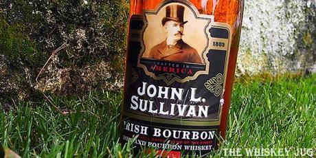John L Sullivan Irish Bourbon Label