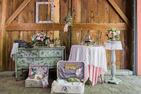 Vintage Blackberry Wedding