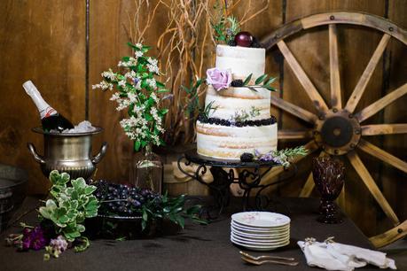 Vintage Blackberry Wedding