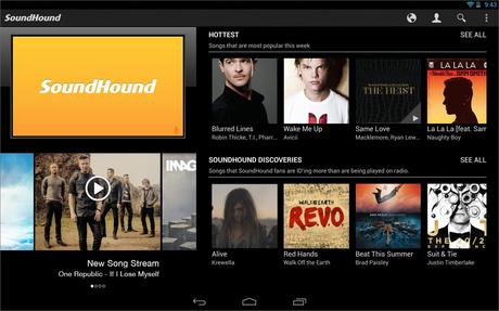 SoundHound ∞ - screenshot