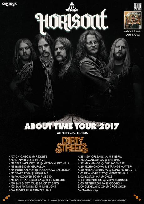 HORISONT Announce 'About Time' North American Tour