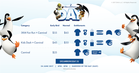 [UPDATED] Get Your Promo Code for Singapore First DreamWorks Run NOW!