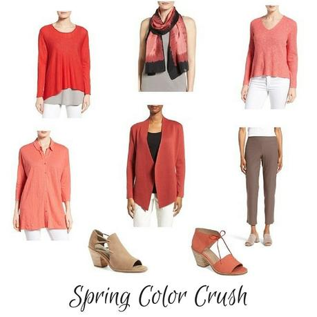 Eileen Fisher spring colors