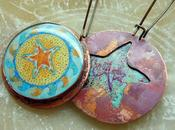 Starfish Waves Copper Resin Earrings Love s...
