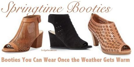 Throwback Thursday: Springtime Booties and Casual Style