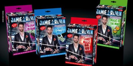 "Jamie Raven ""slight of hand"" magic set"