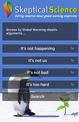 #SkepticalScience #App gives you fast #science to respond to #ClimateChange #deniers