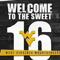 West Virginia : #WVU is in the Sweet 16! But can they upset Zaga?