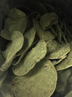 Today's Review: Tyrrell's Kale & Spirulina Corn Chips