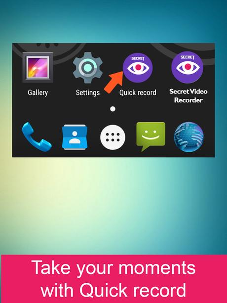 Secret Video Recorder Pro- screenshot