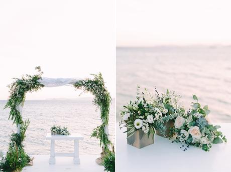 Boho beach wedding in Mykonos | Elena & Stephan