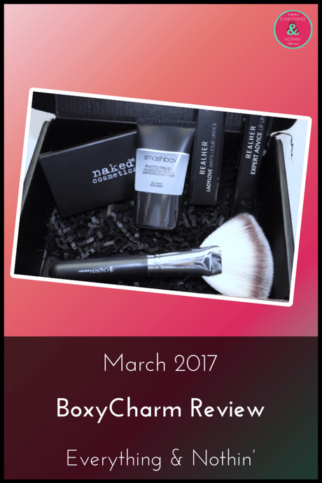 March 2017 BoxyCharm Review