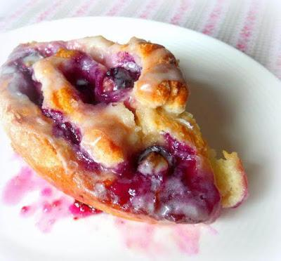 Blueberry & Lemon Breakfast Buns
