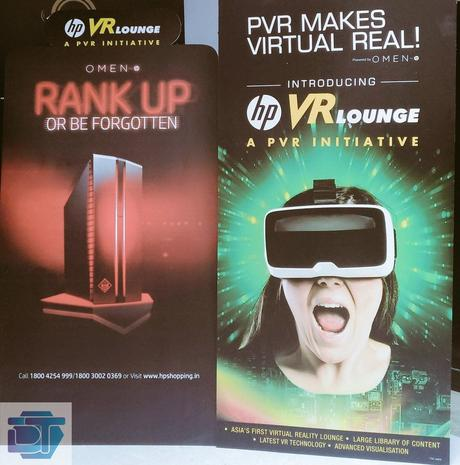 Asia's first Virtual reality Lounge Launch in Presence of Ranbir Kapoor – HP VR Lounge in Mall Of India Noida