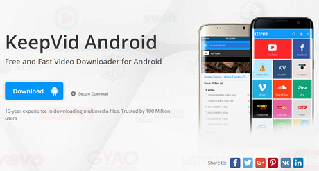 KeepVid Android Review: Easiest YouTube Video Downloader for